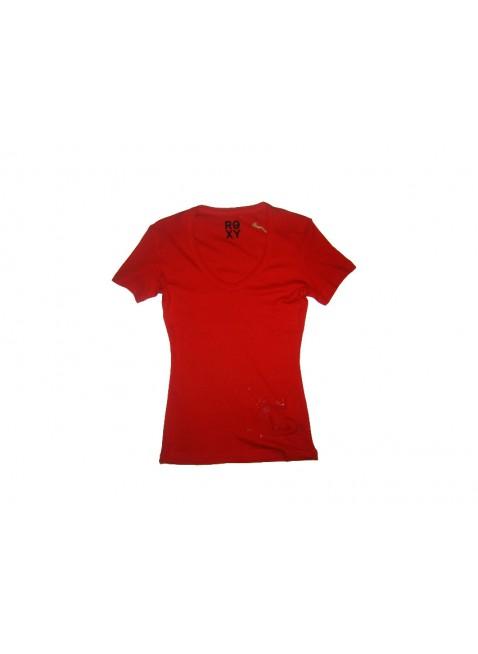 Dámské Triko Roxy Flutter red