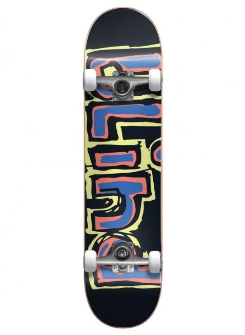 komplet skateboard Blind Matte OG Logo Yellow/Red/Blue 7.75