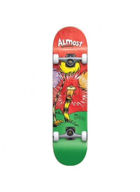 "komplet skateboard ALMOST - Lorax Premium Complete Red 8,0"""