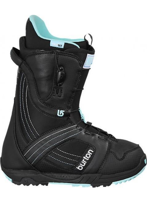 Burton MINT black white noir blanc dámské snowboardové boty