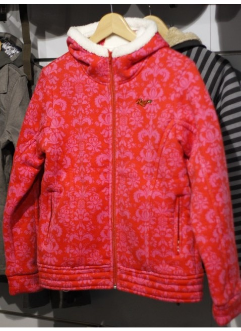 dámská mikina Roxy MAXWELL SMART poppy red