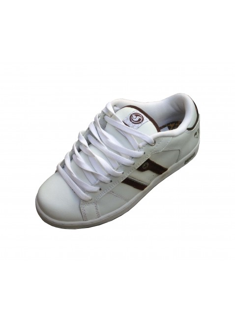 Boty DVS Taylor bown white leather