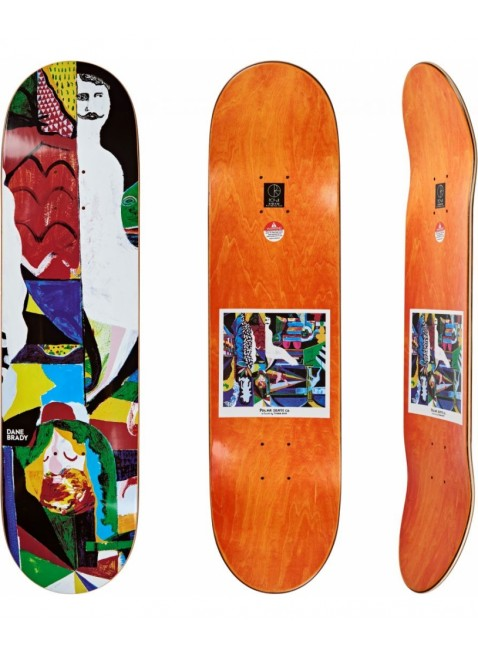 "deska Deska Polar Skate Co. Dane Brady Memory Palace 8.125"""