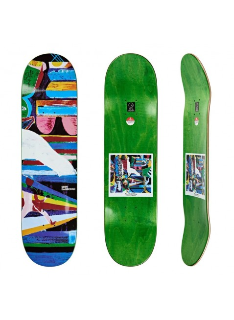 """deska Polar Skate Co Shin Sanbongi Memory Palace Skateboard Deck - 9"""""""