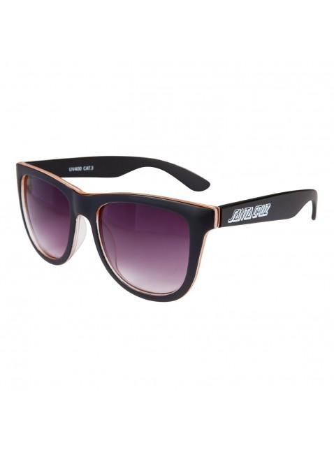 sluneční brýle Santa Cruz Bench Sunglasses black orange