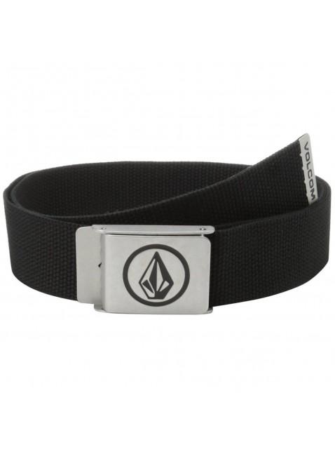 Pásek Volcom Circle belt black