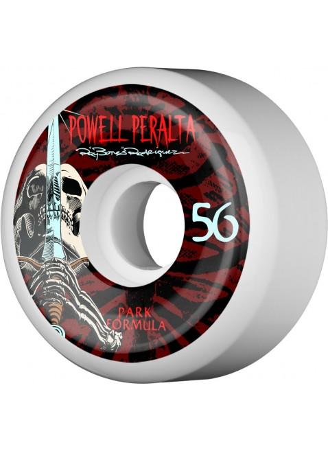 kolečka Powell Peralta Rodriguez Skull and Sword PF Skateboard Wheels 56mm 103A 4pk