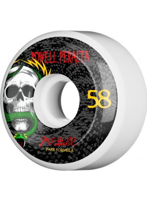 kolečka Powell Peralta McGill Skull and Snake Skateboard Wheels 58mm 103A 4pk