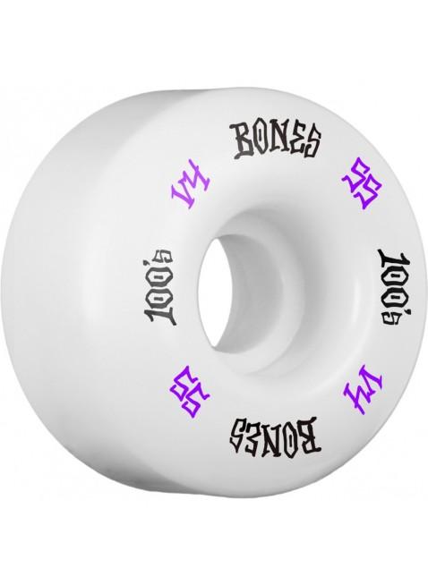 kolečka BONES WHEELS 100's #12 OG Formula 55x34 V4 Skateboard Wheel 100A 4pk