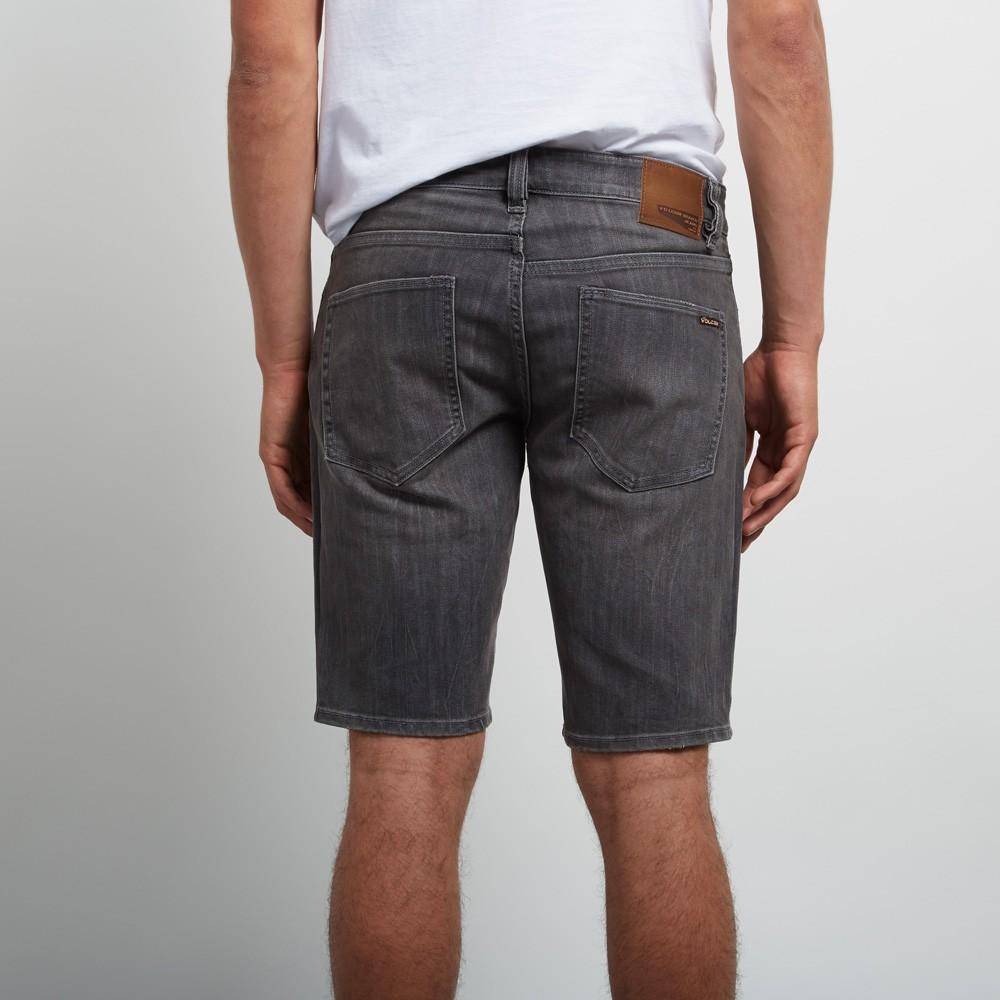 KRAŤASY VOLCOM VORTA jeans short vertiver grey. Zoom Image 9b5458efc0