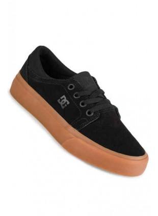 dětské boty DC Trase youth black gum