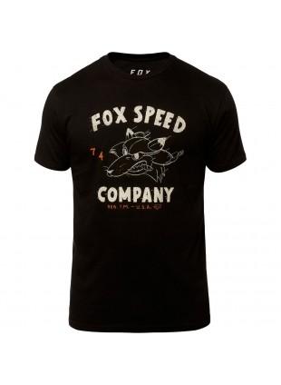 triko FOX Bomber Ss Premium Tee Black
