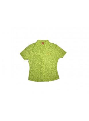 HORSEFEATHERS AVIAN green košile kr.rukáv