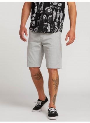 kraťasy Volcom Frickin Modern Stretch Shorts Grey