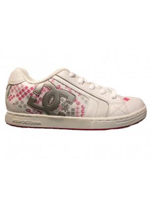 DC Y´S NET SE white crazy pink skate boty