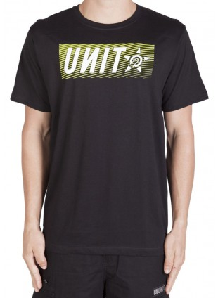 triko Unit Base Technic tee black