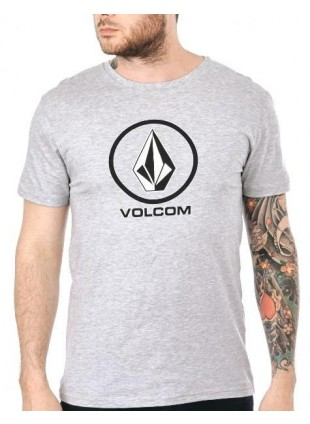 triko Volcom Circle Stone Heather Grey