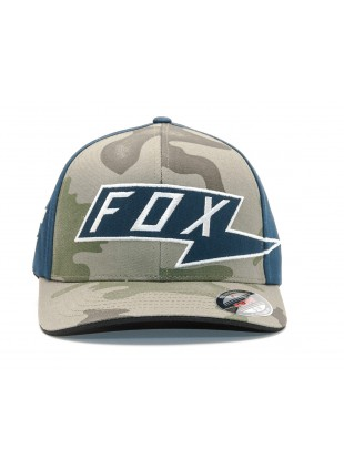 Kšiltovka Fox AMP flexfit camo