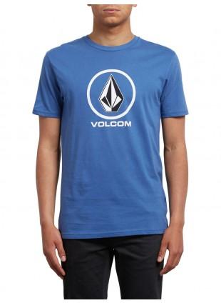 Triko Volcom Crisp blue drift