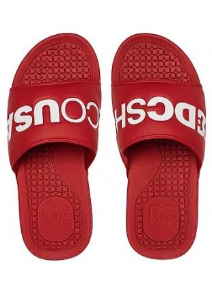 Sandály DC BOLSA se red white