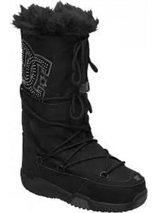 DC CHALET SUEDE black zimní boty