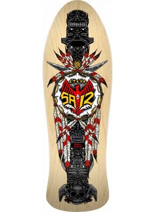 deska Powell Peralta Steve Saiz Totem Skateboard Deck Natural - 10 x 30.81