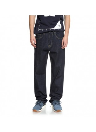 kalhoty DC Worker Indigo Rinse Relaxed Fit Jeans