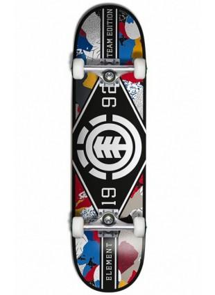 "Komplet skateboard ELEMENT M. LEAGUE CUT OUT WHITE/BLACK 8.0"""