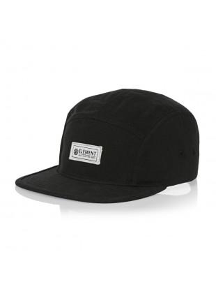 Kšiltovka Element Elder cap flint black