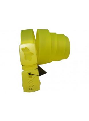 Dámský pásek FOX day logo yellow