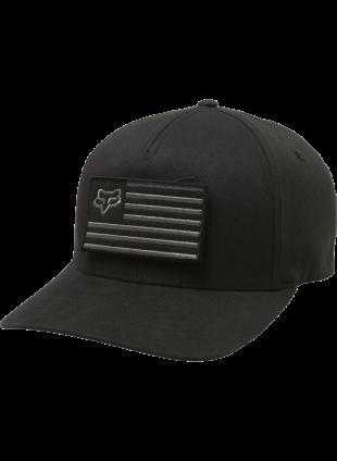 Kšiltovka Fox Placate flexfit hat black