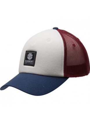 kšiltovka Element Icon Mesh cap oxblood red