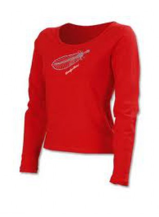 Horesefeathers dětské triko MELODY red