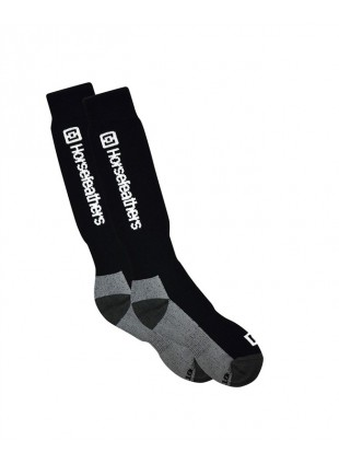 ponožky Horsefeathers Spirit socks Thermoline black 11-13