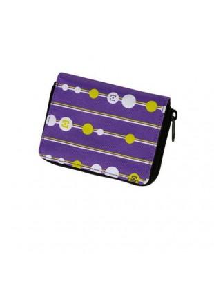 Peněženka Horsefeathers Beads violet