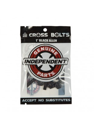 šroubky INDEPENDENT - Genuine Parts Allen Hardware Black Bx12 Pks/8
