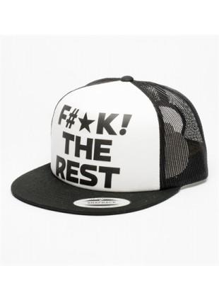 Kšiltovka Independent FTR Meshback cap black/white