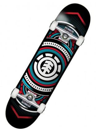 """komplet skateboard ELEMENT HATCHED BLUE R 7,75"""""""