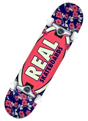 "komplet skateboard Real OVAL BLOSSOMS 7,75"""