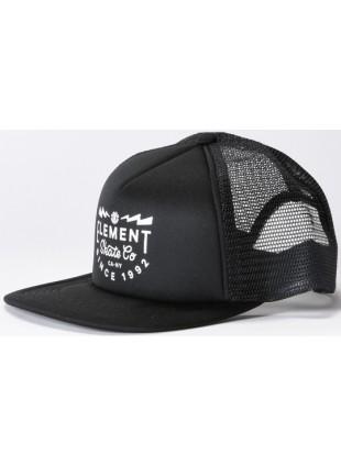 Kšiltovka Element Rift flint black