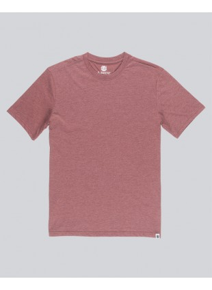 triko Element Basic T-shirt oxblood heather