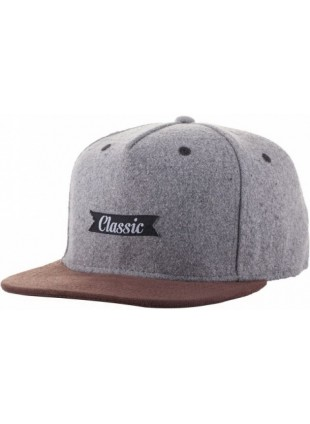 kšiltovka Neff Classic grey