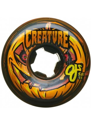 kolečka OJ - 56mm Pumpkin Head Bloodsuckers Orange and Black Swirl 97a OJ Orange and Black Swirl