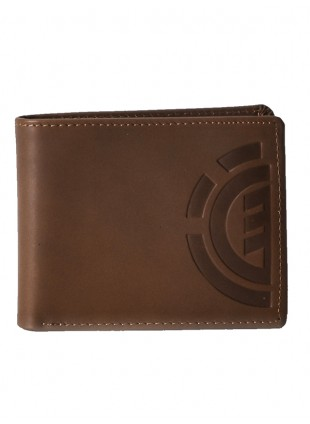 Peněženka Element Daily Elite wallet brown