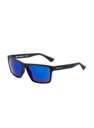 brýle Horsefeathers MERLIN matt black/mirror blue