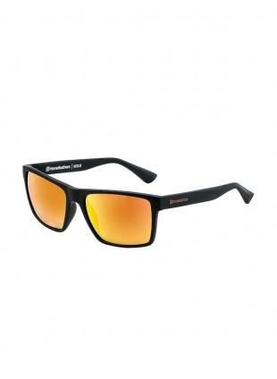 brýle Horsefeathers MERLIN matt black/mirror orange