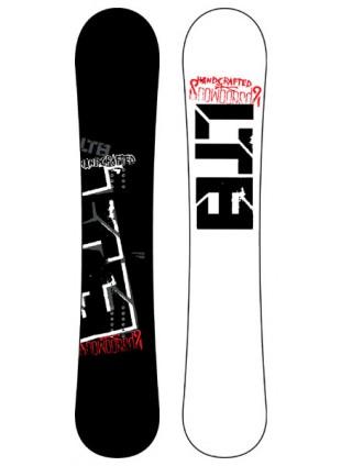 pánský snowboard LTB Per4mance black 160cm
