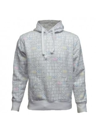 QUIKSILVER QCMSW964 white mikina s kapucí