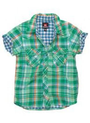 Quiksilver dětská košile GREEN DAY green