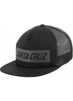Kšiltovka Santa Cruz SCS Block Strip Trucker black
